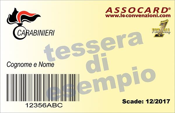L'ASSOCARD per i dipendenti dell'Arma dei Carabinieri