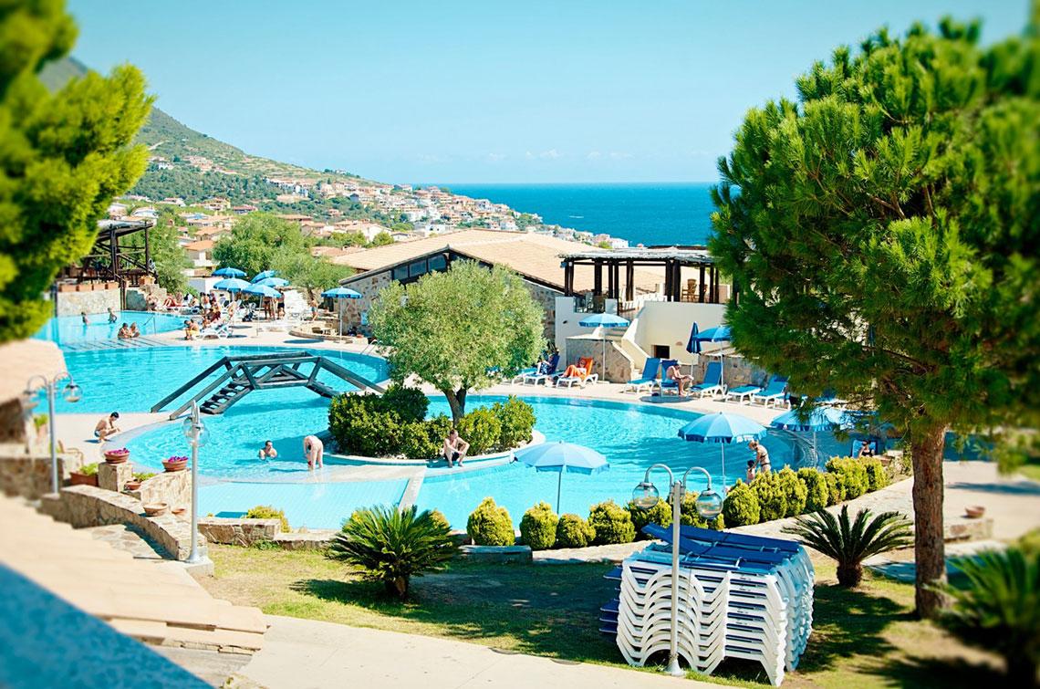 La piscina del Cala Gonone Beach Village