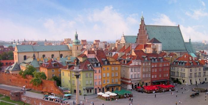 Un'immagine di Varsavia
